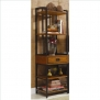 Home Style 5050-13 Modern Craftsman Gaming Tower, Distressed Oak Finish
