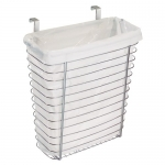 InterDesign Axis Over the Cabinet Waste/Storage Basket