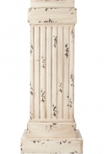 Apollo Pedestal, 17SQx42.5H, CREAM