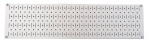 Wall Control Narrow Pegboard Rack 8in x 32in White Metal Pegboard Runner Tool Board