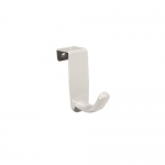InterDesign Axis Closet, Over the Cabinet Hook, White