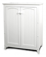 Catskill Craftsmen Double Door Kitchen Cabinet, White