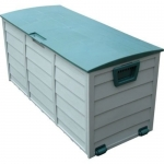 NEW Home Outdoor 19.5x44x21.5 Weatherproof Plastic Storage Box Organizer