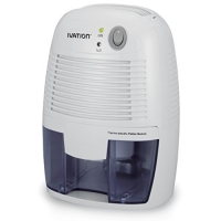 Ivation IVAGDM20 DehumMini Powerful Small-Size Thermo-Electric Dehumidifier - Quietly Gathers Up to 8oz. of Water Per Day - Great for Smaller Room, Cupboard, Basement, Attic, Stored Boat, RV, Antique Car