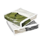 Two Pack of Storage Bag Color: White