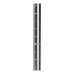Akro-Mils AWP54UPRIGHT 54-Inch NSF Approved Industrial Grade Chrome Wire Shelf System Upright Leg, 4-Pack