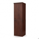 South Shore Morgan Narrow Storage Cabinet, Royal Cherry