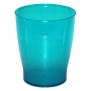InterDesign Franklin Trash Can, Turquoise