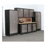 Storage Cabinet, H 72, W 36, D 18, 4 Shelves