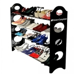 Last Day Sale- Shoe Rack Organizer Storage Bench -100% Lifetime Money Back Guarantee -Store up to 20 pairs of shoes and say GOODBYE to messy piles of shoes cluttering your closet and entryway - Adjustable shoe racks shelves width and height - Made From St