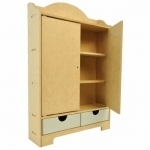 Beyond The Page MDF Storage Cupboard-12.5X19X4