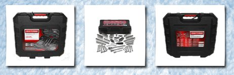 Craftsman 154 pc mechanics tool set #