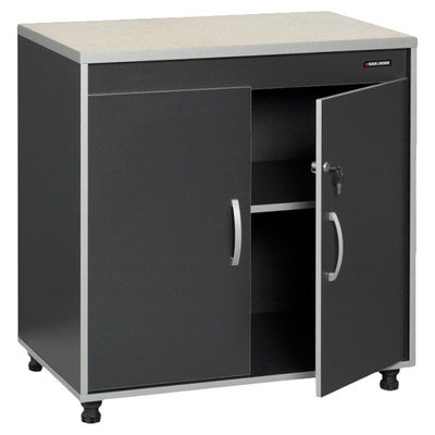 2 Door Base Cabinet Black Amp Decker Black Amp Decker